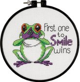 "Dimensions First One to Smile"" Counted Cross Stitch Kit, Multi-Colour"