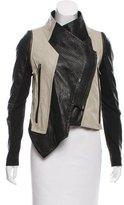 Yigal Azrouel Asymmetrical Long Sleeve Jacket