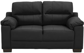 Saskia Leather/Faux Leather 2 Seater Compact Sofa