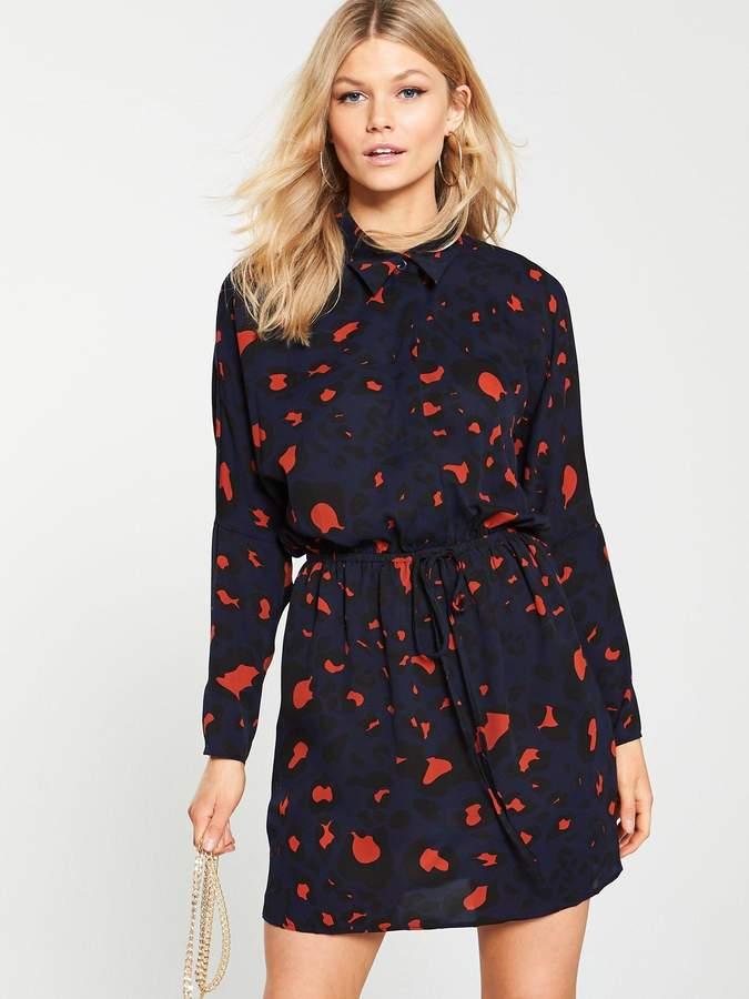 013313be84f3f Blue Animal Print Dress - ShopStyle UK