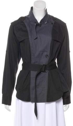 Etoile Isabel Marant Double-Breasted Colorblock Jacket