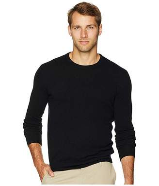 Polo Ralph Lauren Washable Merino Wool Sweater (Polo Black) Men's Clothing