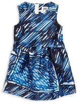 Milly Minis Toddler's & Little Girl's Ari Scribble-Print Dress