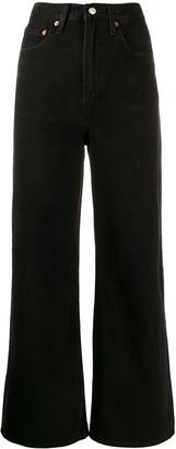 Levi's Ribcage wide-leg jeans