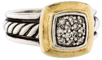 David Yurman Pavé Square Ring