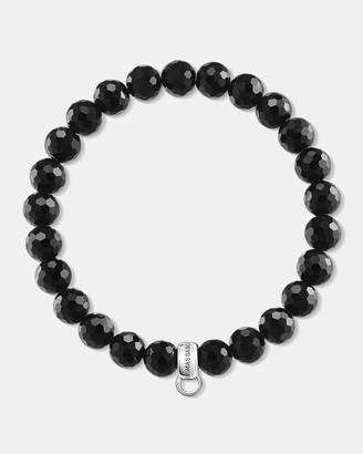 Thomas Sabo Charm Club Obsidian Bead Bracelet