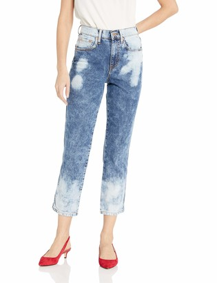 Ella Moss Women's High Waist Straight Leg Ankle Jean
