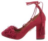 Aquazzura Wild Thing 85 Pumps w/ Tags