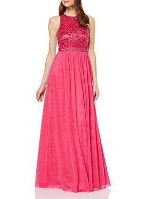 Vera Mont VM Women's 2547/3541 Party Dress, Pink (Fuchsia Rose 68), 16 (Size: )