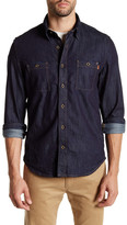 Timberland Long Sleeve Mumford River Denim Shirt