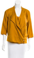 Diane von Furstenberg Agaton Silk Cardigan Set