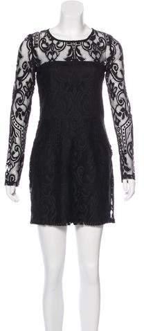 Alexis Long Sleeve Lace Mini Dress