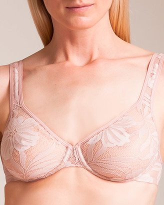 Hanro Lace Illusion U-Wire Bra