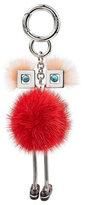 Fendi Key Chain with Mink Fur