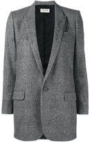 Saint Laurent Prince of Wales check blazer