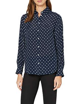 Seidensticker Women's Fashion-Bluse 1/1-lang Blouse,(Size: 44)