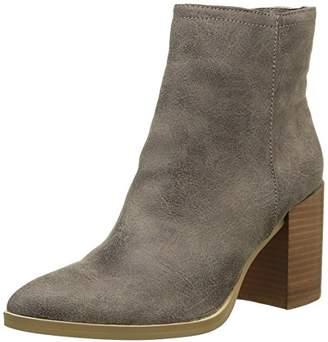 Buffalo David Bitton Shoes Women''s B006A-58 P2066C PU Ankle Boots, Grey (Taupe 01), (40 EU)