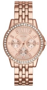 Relics by Fossil Women's Layla Multifunction Rose Gold Watch