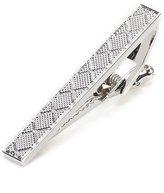 Roundtree & Yorke Diamond Textured Tie Clip