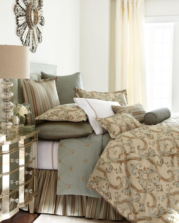 """Jane Wilner Designs Siena Scroll"""" Bed Linens"""