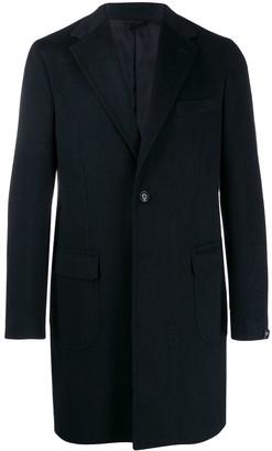 Barba Classic Single-Breasted Coat
