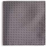 Emporio Armani Tonal Diamond Print Pocket Square