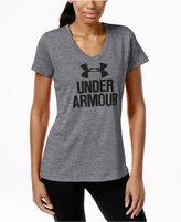 Under Armour UA Tech Logo V-Neck T-Shirt