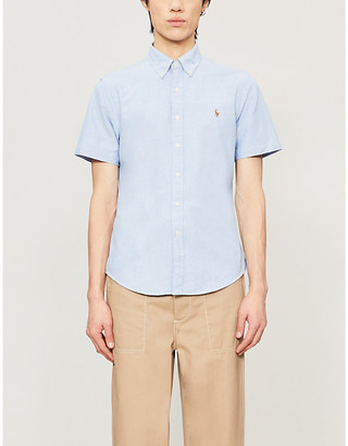 Polo Ralph Lauren Checked short-sleeve cotton shirt
