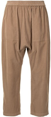 Raquel Allegra Sunday cropped trousers