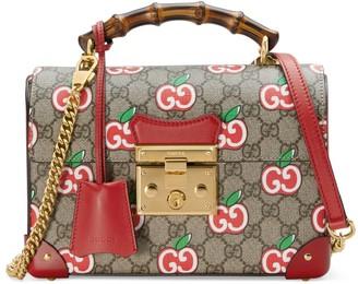 Gucci Chinese Valentine's Day Padlock small bamboo shoulder bag
