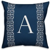 Bunnell Lace Initial Throw Pillow Red Barrel Studio Letter: A