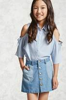 Forever 21 Girls Denim Skirt (Kids)