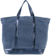 Vanessa Bruno sequin trim tote bag - women - Cotton - One Size