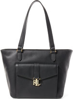 Ralph Lauren Leather Evonne Shopper