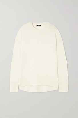 Theory Karenia Cashmere Sweater - Ivory
