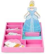 Melissa & Doug Disney Princess Cinderella Wooden Magnetic Dress-Up Doll by