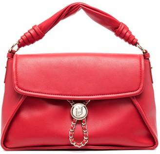 Liu Jo Chain-Link Faux Leather Shoulder Bag