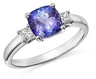 Bloomingdale's Tanzanite & Diamond Ring in 14K White Gold - 100% Exclusive