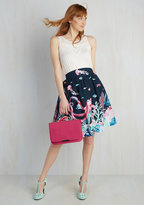 Shaoxing Lidong Trading Co Style Study A-Line Skirt in Marine Bio