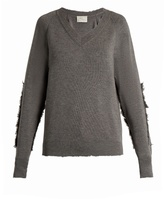 Hillier Bartley Distressed-edge Wool Sweater