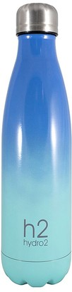 Hydro2 Double Wall Stainless Steel Water Bottle 500ml Blue Ombre
