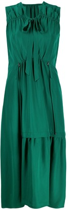 Christian Wijnants Dican smock-panelled shift dress