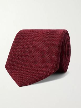 Anderson & Sheppard 9cm Virgin Wool-Blend Tie