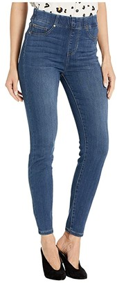 Liverpool Chloe Pull-On Ankle Skinny in Silky Soft Denim in Palma (Palma) Women's Jeans
