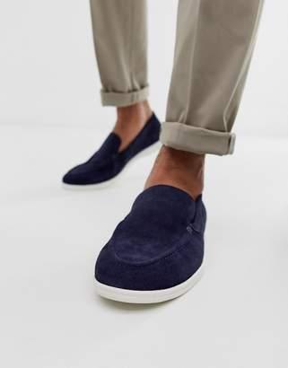KG by Kurt Geiger Kg Kurt Geiger slip on shoe in navy suede