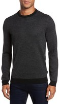 Ted Baker Men's Cinamon Interest Stitch Crewneck Sweater