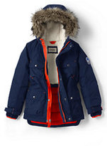 Lands' End Little Boys Expedition Parka-Emerald Gulf