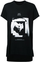 Julius text print T-shirt - men - Cotton/Modal - 4