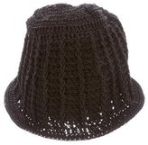 Chanel Crochet Knit Beanie