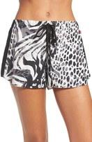 Josie 'Edgy Garden' Print Pajama Shorts